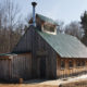 New Hampshire, Bartlett School maple sugar house,