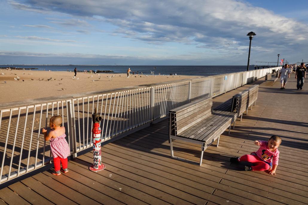 Coney Island Beach kids