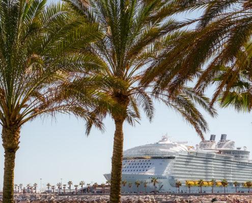 Luxury cruise ship Symphony of the seas