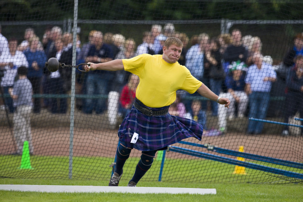Highland Games - Scotland - Throwing the Hammer