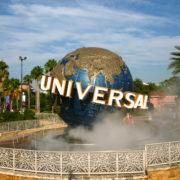 Universal Globe in Orlando