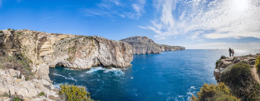 Malta Dingy Cliffs