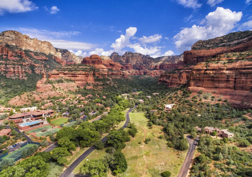 Boynton Canyon area in Sedona, Arizona, USA
