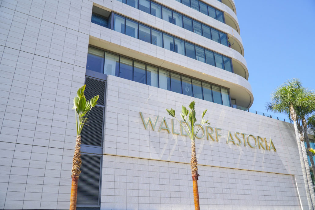 The Waldorf Astoria Hotel in Beverly Hills