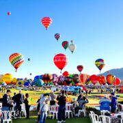 Albuquerque Balloon Festival in New Mexico. Colorfulballoonride, balloons.