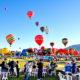 Albuquerque Balloon Festival in New Mexico. Colorfulballoonride, balloons.