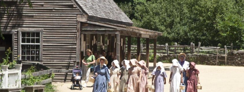 2682 Kids have a chance to be a Village Kid, Old Sturbridge Village, Massachusetts