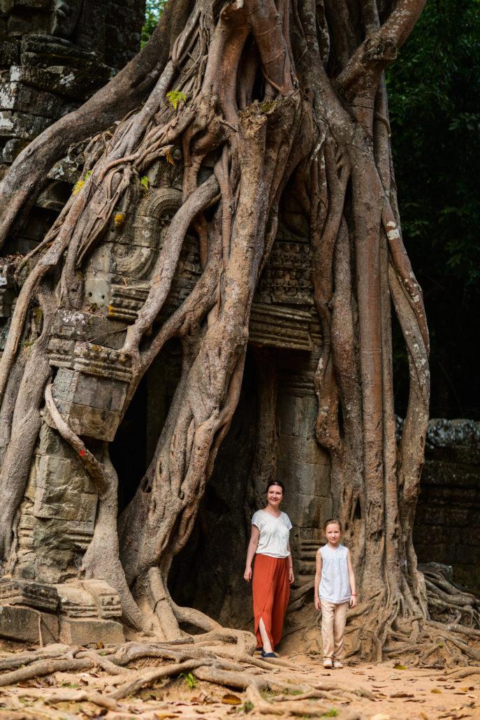 family Cambodia travel
