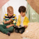 kids indoor camping