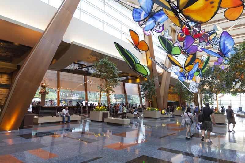 Aria Hotel Lobby in Las Vegas, NV