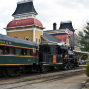 6123 The Conway Scenic railroad, No. Conway, NH