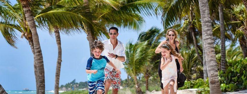 Family at Velas Resorts