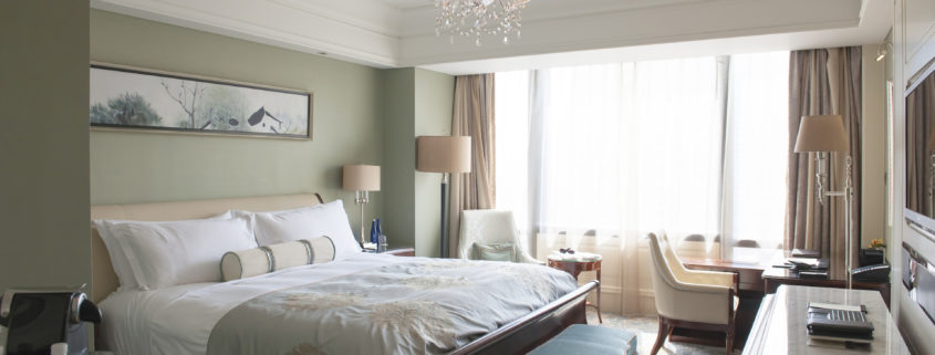 Waldorf Astoria Shanghai luxury room