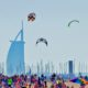 Jumeirah Beach kite day