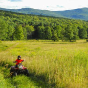 Kids on Quad in Catskills, NY