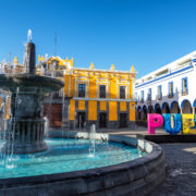 Fountain in Historic Puebla © Jesse Kraft | Dreamstime.com