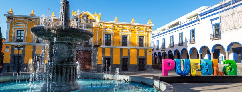 Fountain in Historic Puebla © Jesse Kraft | Dreamstime.com