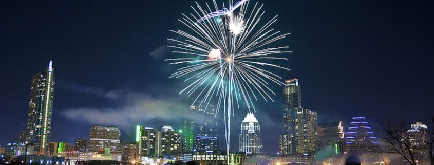 Austin, Tx Fireworks