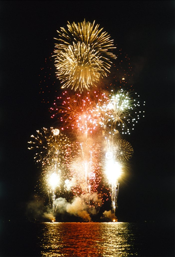 Lake Tahoe Fireworks © Aramark