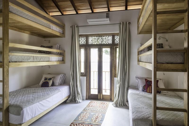 Meda Gedara triple tiered bunk beds