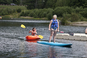 9057 Summer adventures at Waterville Valley Resort, Waterville Valley, New Hampshire