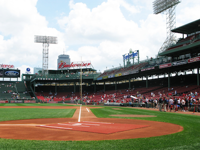 Fenway Park, Boston, Mass.