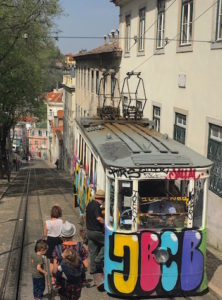 Lisbon Cable Car © Elyse Glickman
