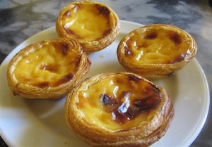 Nata Tarts in Lisbon, Portugal