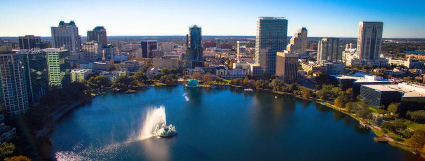 Orlando Florida, Lake Eola