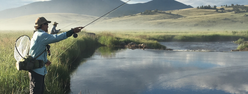 Fishing Camp Fly Fishing © The Broadmoor