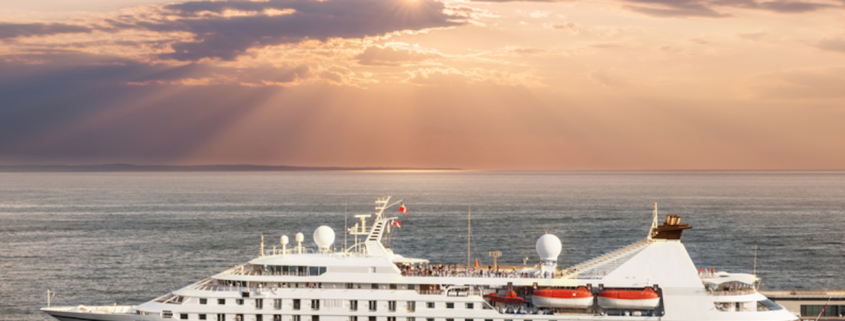 Small luxury cruise ship