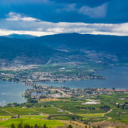 Osoyoos British Columbia Canada and Osoyoos Lake