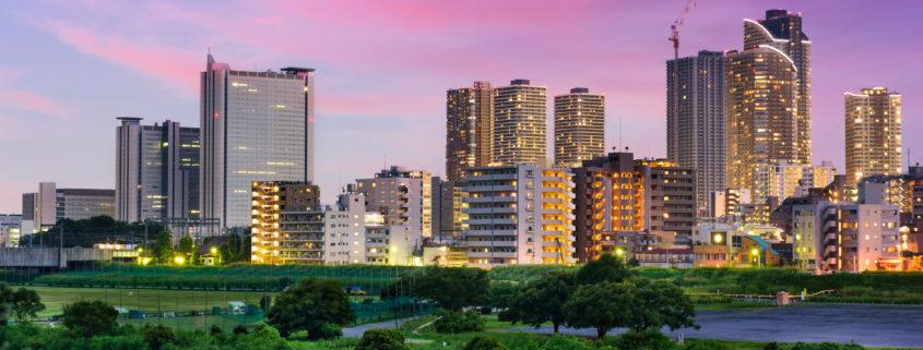 Kawasaki, Japan Skyline