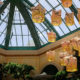 Scenery of Bellagio Hotel Conservatory & Botanical Gardens in Las Vegas