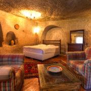 Cave Hotel Living Room - Cappadocia, TurkeyCave Hotel Living Room in Cappadocia, TurkeyCave Hotel Living Room in Cappadocia, Turkey