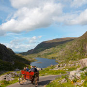 Jaunting Car In Gap Of Dunloe