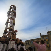 Castells Performance in Spain