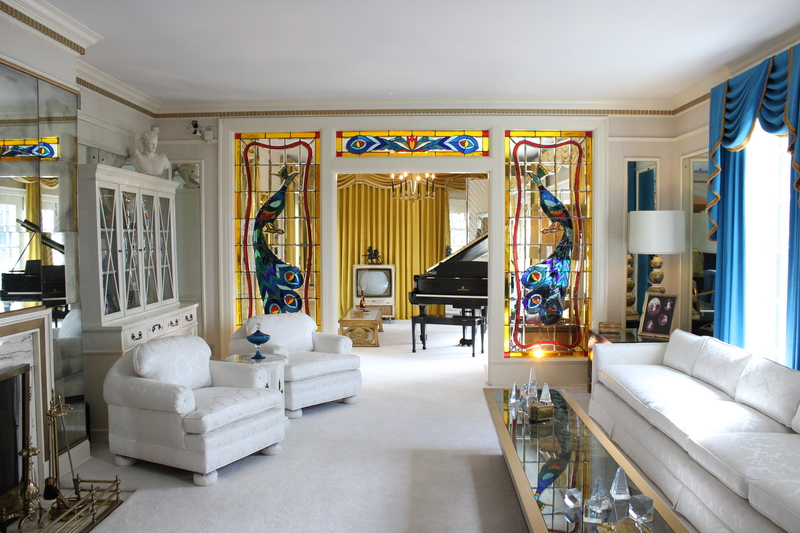 Living room of Graceland