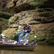 Fishing in the Wisconsin River
