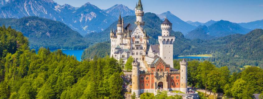 Neuschwanstein Fairytale Castle, Bavaria, Germany