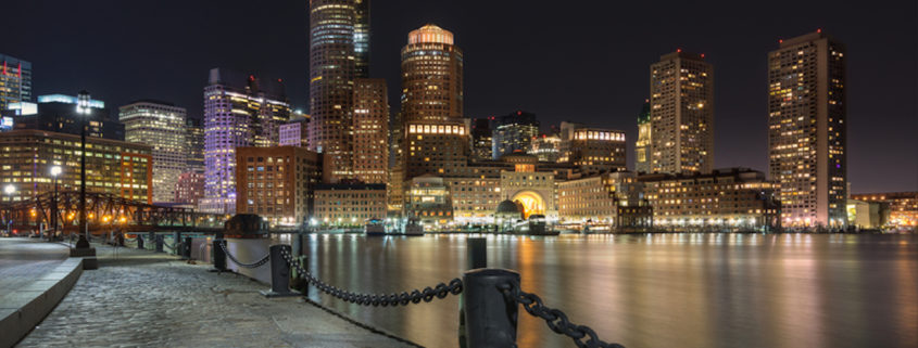 Boston Skyline from the Harbor