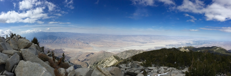 Palm Desert from the top of San Jacinto