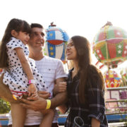 Family vacation at the theme park © Rawpixelimages | Dreamstime.com