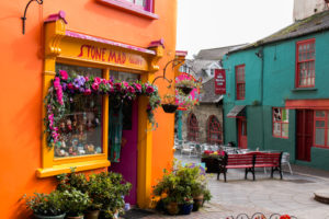 Newman`s Mall and Market street in Kinsale