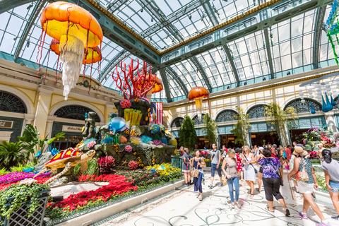 Bellagio Hotel Conservatory & Botanical Gardens in Las Vegas