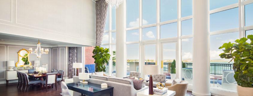 John Adams Presidential Suite Living Room