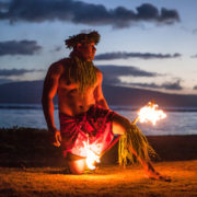 Samoan Fire Dancer