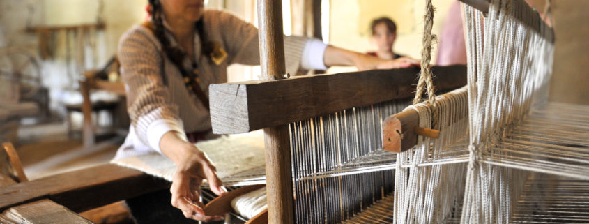 La Purisima Mission Weaving Demonstration © Jason Reynolds