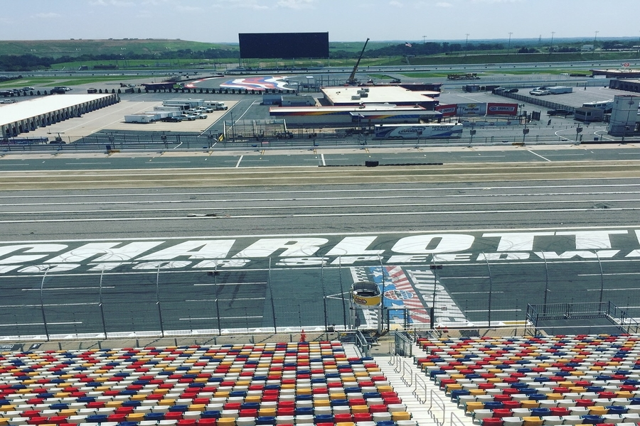 Motor Speedway, Concord, N.C. © Holly Riddle