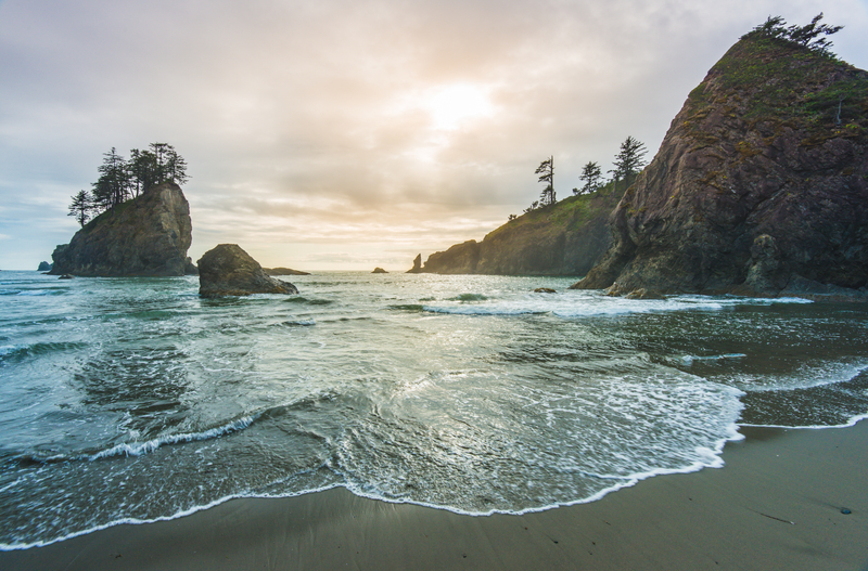 Second beach in Olympic National Park, Washington